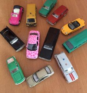 Машины в миниатюре, в хорошем состоянии!