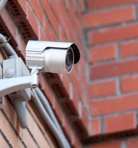 Установка видеонаблюдения. Просмотр через интерент