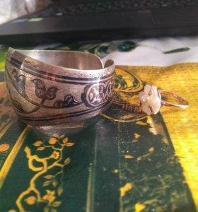 Браслет, кольцо