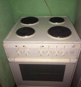 Кухонная плита с духовкой