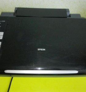 Принтер-сканер цветной Epson stylus sx 7300