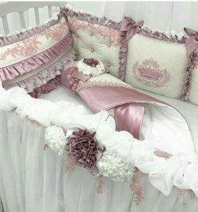 Зксклюзивные комплекты в кроватку