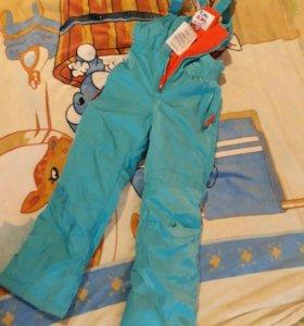 Зимний полукомбез штаны