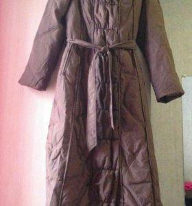 Удлинённая на поясе куртка,44-46 р