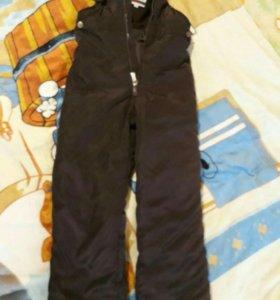 Зимние штаны , полукомбез