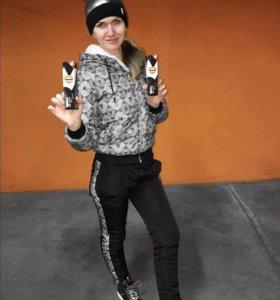 Зимний костюм комбинезон Gucci
