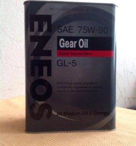 Eneos Gear GL-5, 4 литра трансмиссионное масло