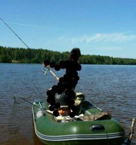 Лодка смарт с мотором