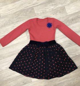 Платья, юбка новые, 110см