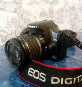 Фотоаппарат цифровой Canon EOS 450 D