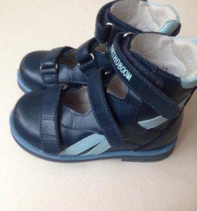 Ортопедические туфли Ortoboom для мальчика 26р.
