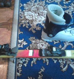 горные лыжи б/у (ботинки)