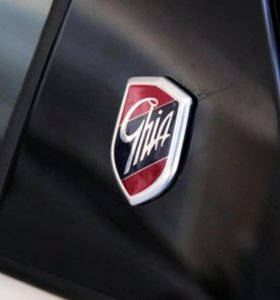 Эмблемы GHIA Щит Логотип Ford