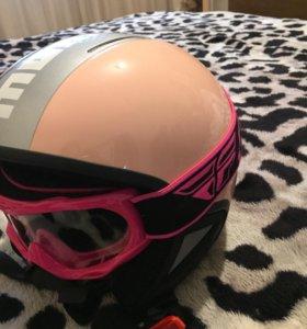 Шлем мото детский на девочку Италия, разм. XS