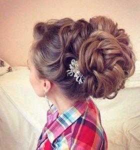 Свадебные и вечерние причёски