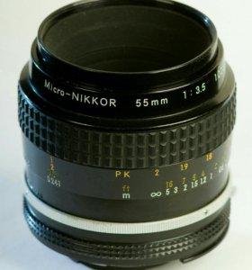 NIKKOR micro MF 55/3.5