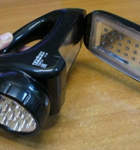 Фонарь светодиодный аккумуляторный со светильником