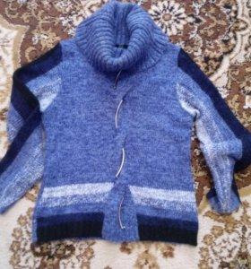 Теплый свитер 42-46