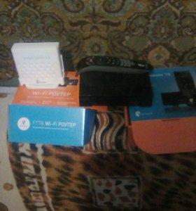 Wi-Fi роутер. Интерактивное ТВ
