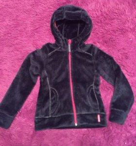 Курточка плюшевая 122-128 (6-7 лет)