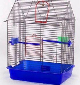 Клетка для птиц новая .