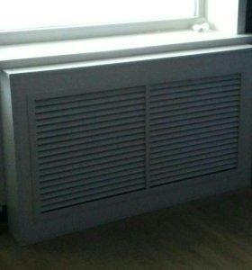 Декоративный экран на радиатор отопления.