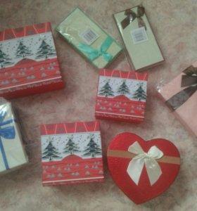 Коробки для подарков ЛЮБЫЕ
