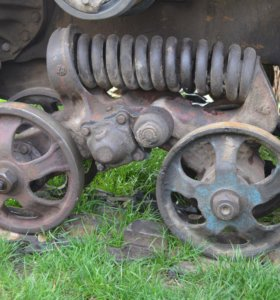 Каретка подвески для трактора ДТ-75