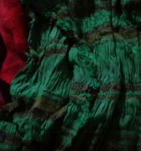 Женский осенний-летний шарф-труба