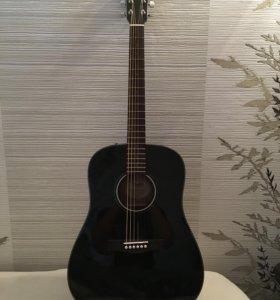 Акустическая гитара Fender CD-60 Dreadnought black