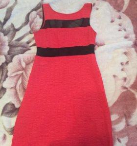 Красное платье)