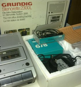 Диктофон GRUNDIG STENORETTE 2300L