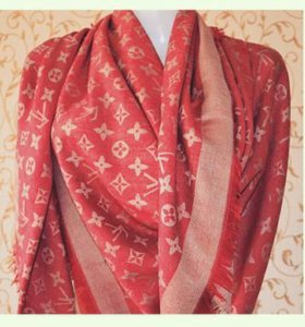 Суперский брендовый палантин-платок Louis Vuitton