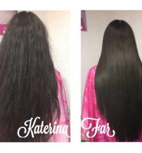 Кератин и ботокс волос