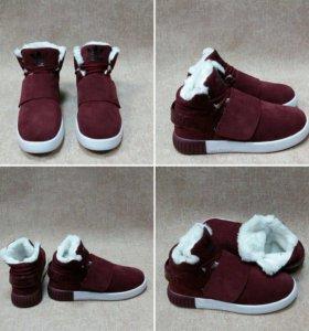 Зимние ботинки adidas 39-40