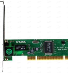 Сетевая карта D-Link DFE-520TX 10/100Mbit