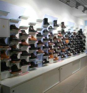 Раскрученный магазин обуви в крупном ТК
