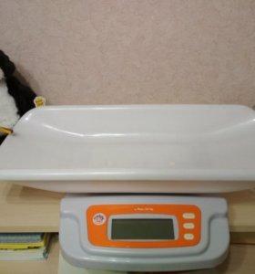 Весы для новорождённого