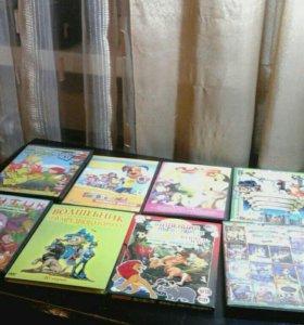 8 DVD Дисков Для Детей