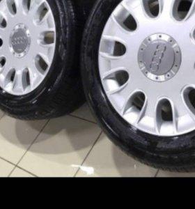 Комплект колёс 245/55/17. Шины Pirelli