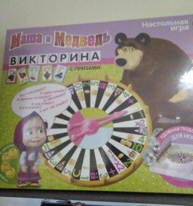 Новая игра Маша и медведь