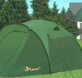 Палатка трёх местная