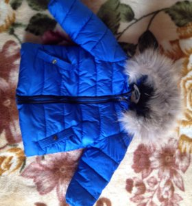 Куртка зимняя р98. Фирма Zara