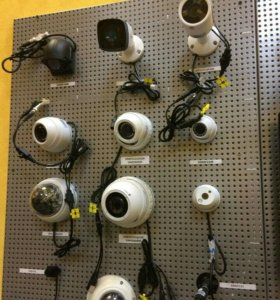 Видеонаблюдения. Установка и подключение