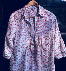 GAP блузка-рубашка