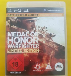 PS3. Medal of Honor Warfighter. Полностью на Рус