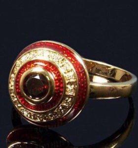 Кольцо новое бижутерия lux