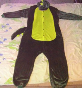 Пижама/костюм КИГУРУМИ ДИНОЗАВР на новый год