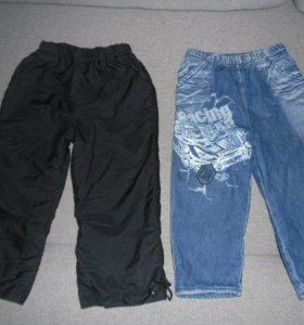 Штанишки и джинсы на флисе