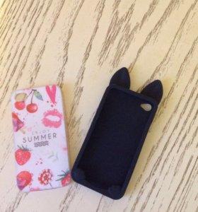Чехлы на айфон 4 ( за оба)